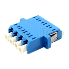 آداپتور فیبر نوری LC Quad - Fiber Optic Adapter LC Quad